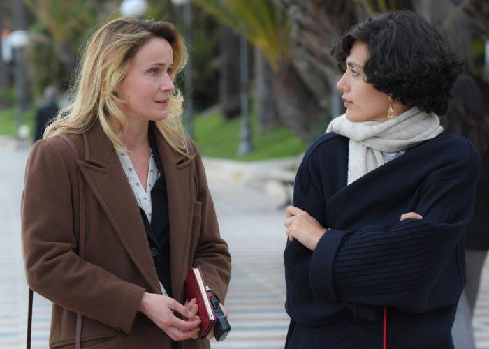 Serena Rossi nel ruolo di Mia Martini e Lucia Mascino nel ruolo di Sandra