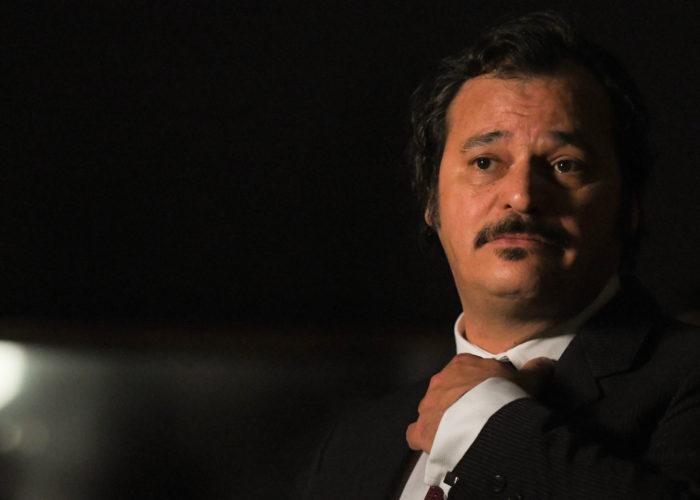 Antonio Gerardi nel ruolo di Crocetta