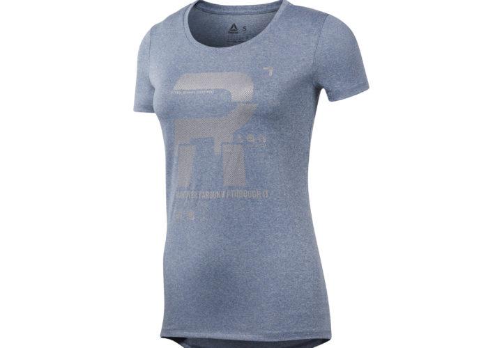 Reebok Running Reflective Graphic T-shirt, in jersey con dettagli riflettenti, tecnologia Speedwick per allontanare il sudore dalla pelle (euro 37,95)