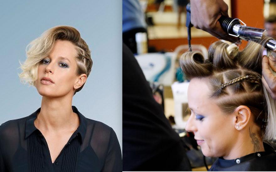 Hair look: il bi-side di Federica Pellegrini