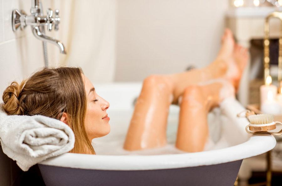 Relax e trattamento con un bagno da star