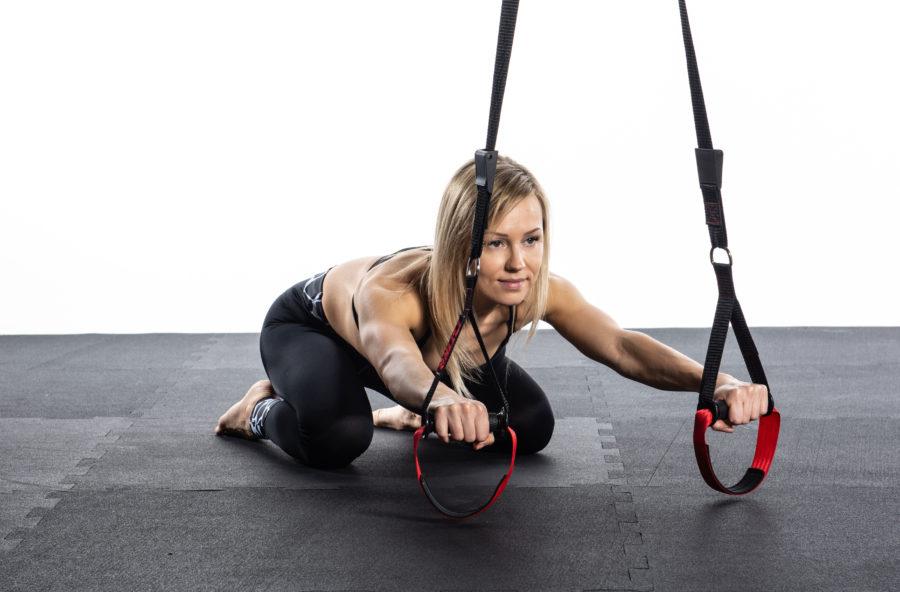 Relax per la schiena con l'esercizio in sospensione