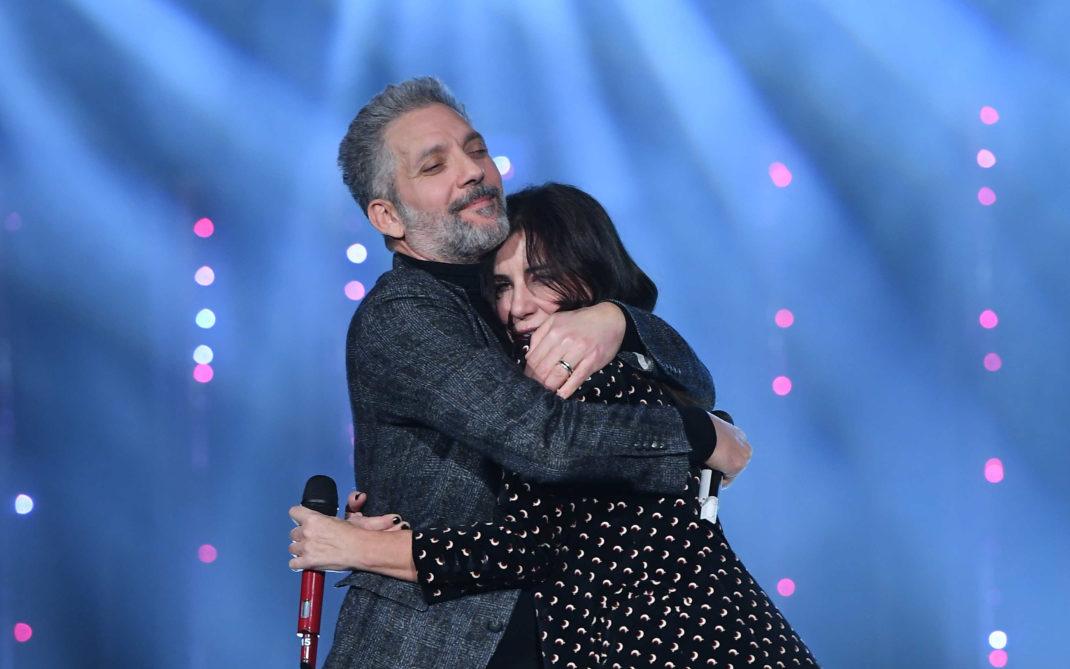 Sanremo 2019- duetto Turci/Fiorello