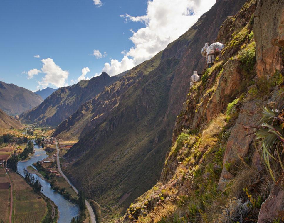 Skylodge in Perù