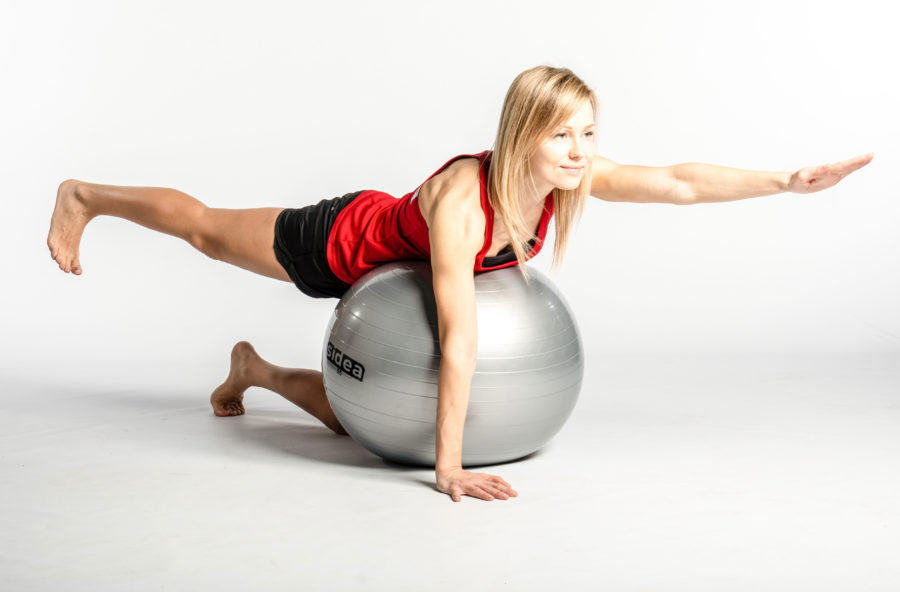Total body workout con la fitball