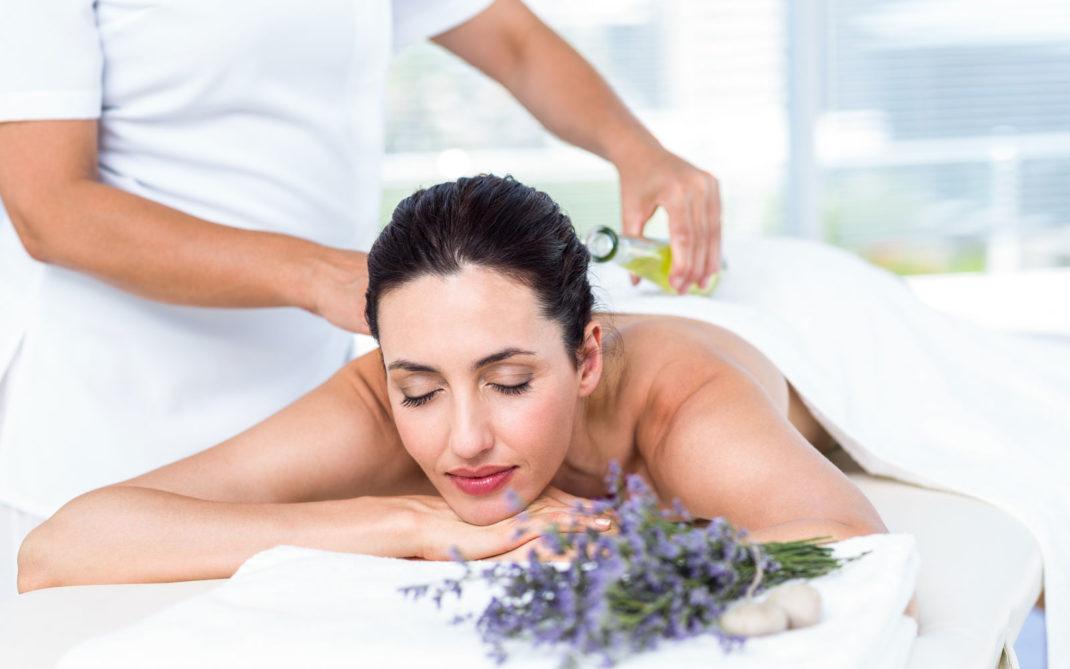massaggio lavanda