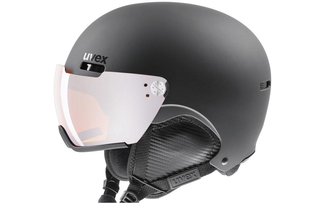 Uvex HLMT500, campo visivo esteso, lenti a specchio 100% antiUV, facilità di apertura e chiusura, poggianaso anatomico, buona aerazione, euro 289,90