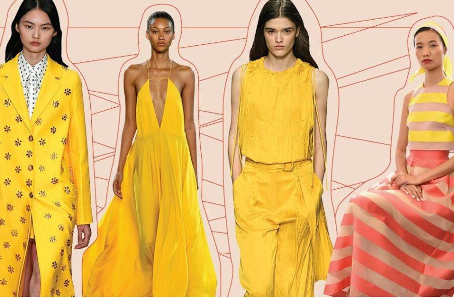 Moda primavera 2019: scoppia la yellow mania