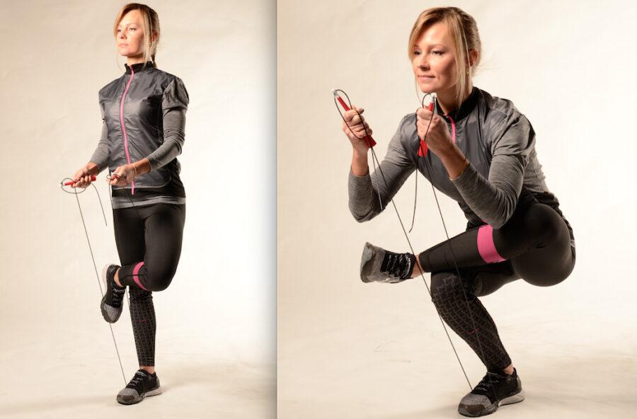 Stretch & tone con la corda