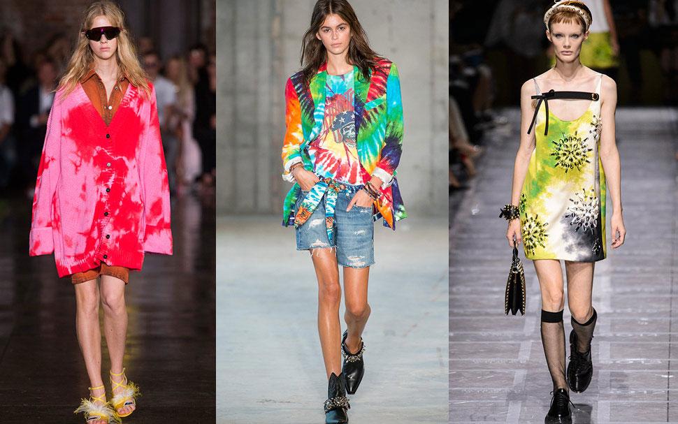 Moda pe2019 Tie dye