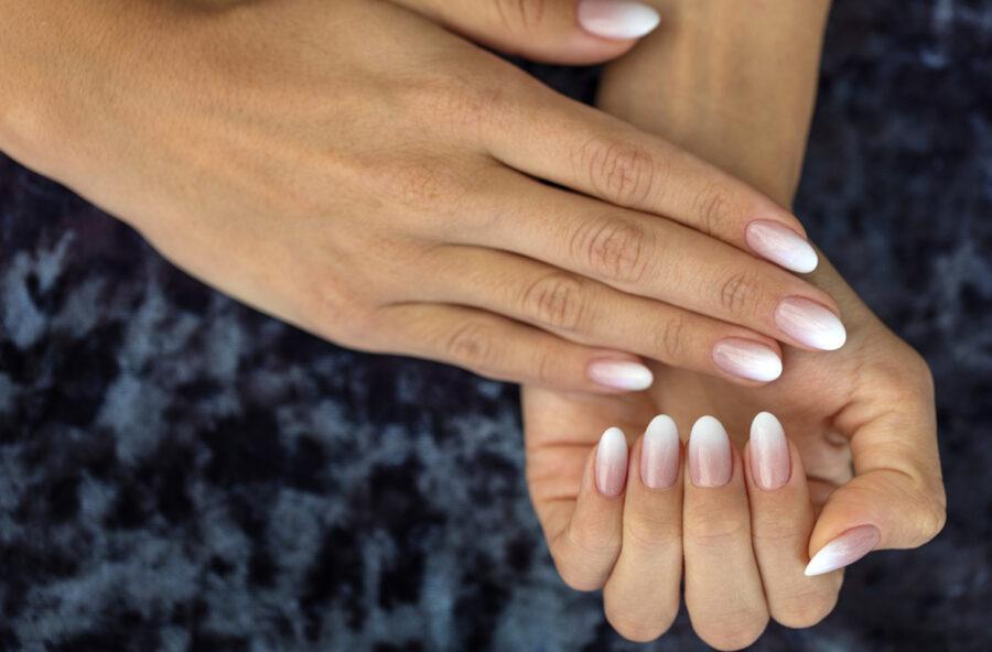 Nail art: l'eleganza della sfumatura