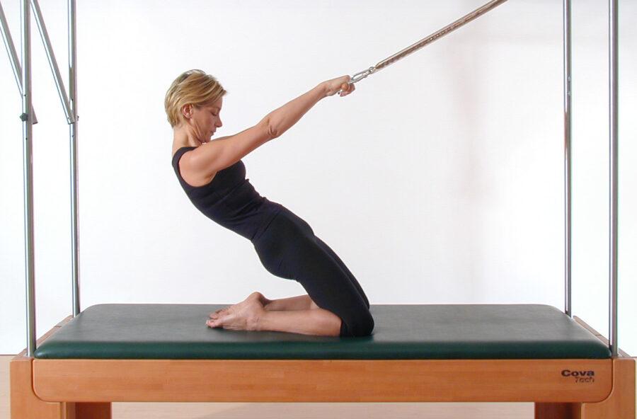 Pilates: un corpo più sottile e femminile sulla Cadillac