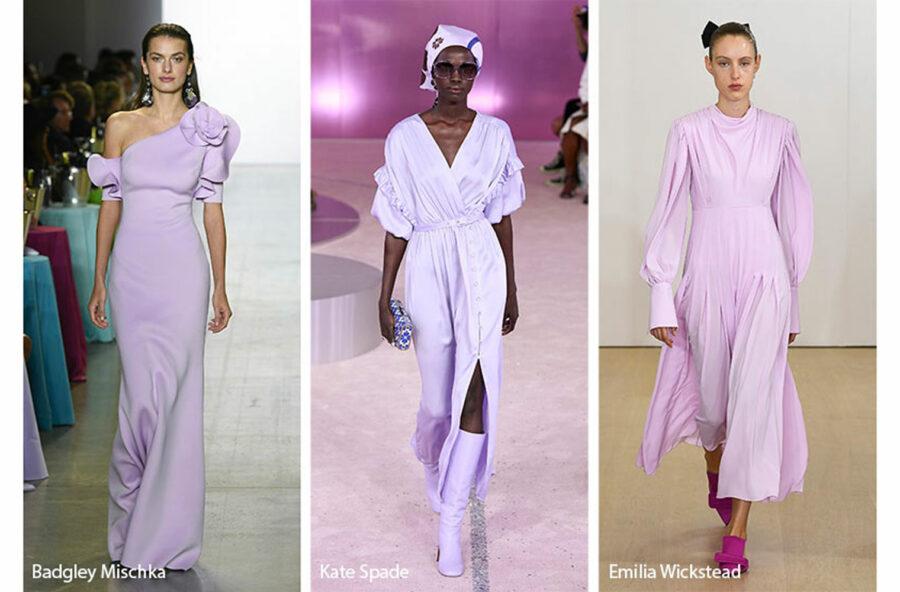 Trend moda p/e 2019, vince il color lavanda