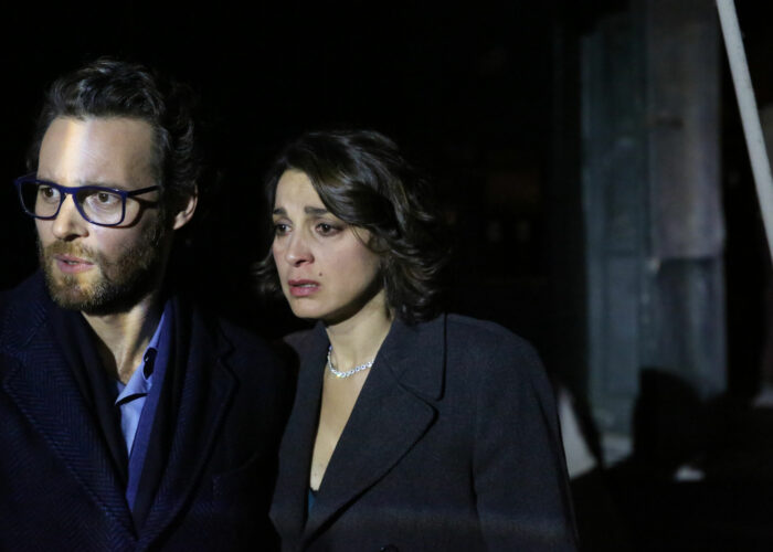 Giorgio Marchesi e Donatella Finocchiaro