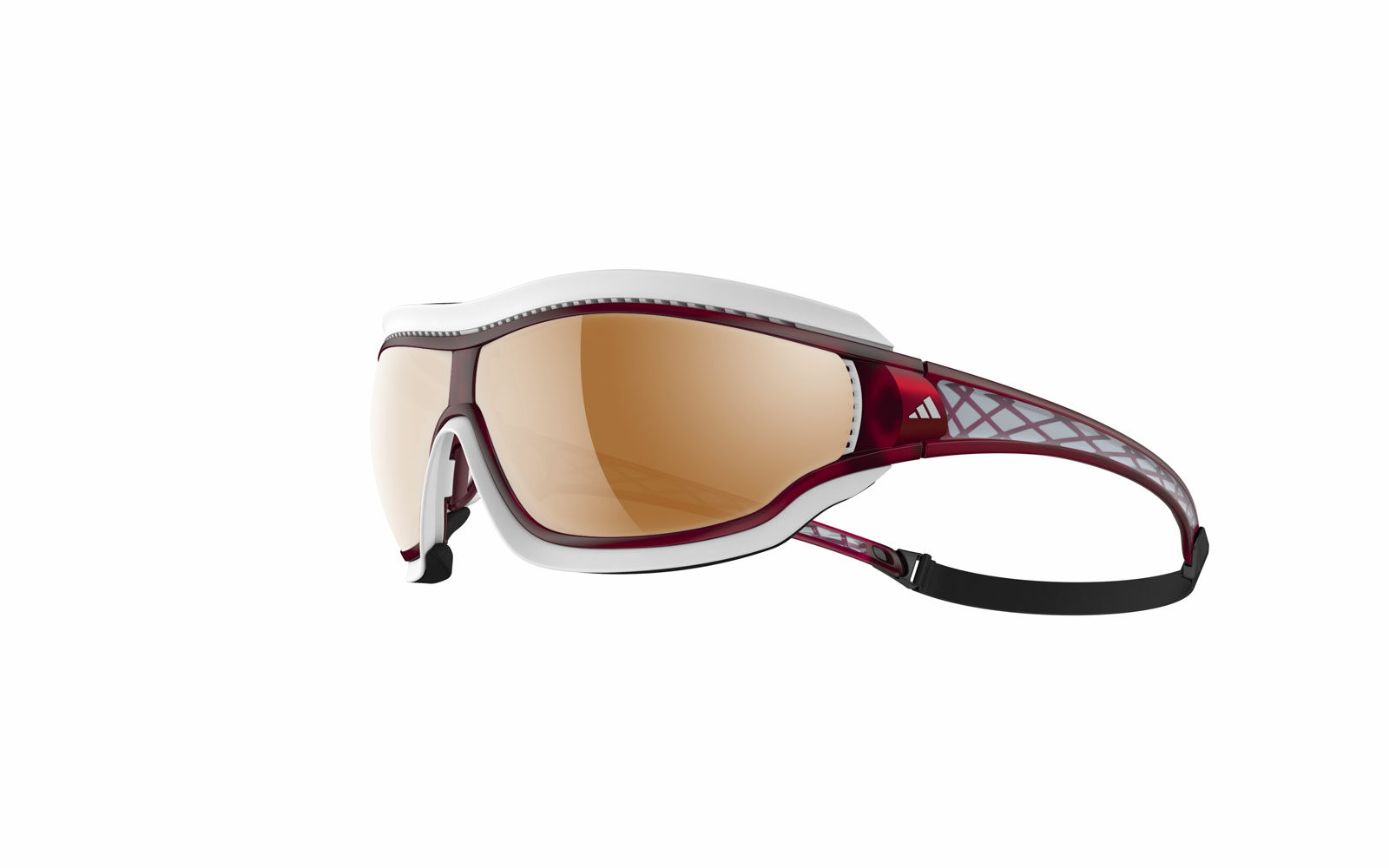 Ideale per la CORSA il modello Adidas Eyewear Tycane Pro Outdoor, sistema di ventilazione Climacool, profilo imbottito di protezione in gomma amovibile, astine a tre regolazioni. Euro 209.
