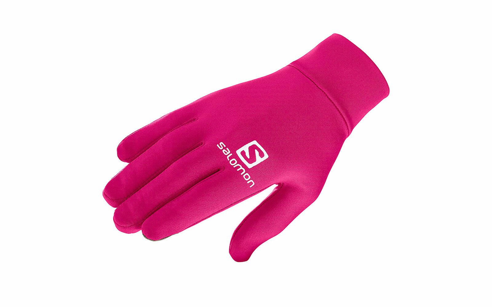 Salomon Agile Warm Glove U, in tessuto di spugna con chiusura elastica al polso, compatibili con i touchscreen, protettivi e traspiranti, euro 28