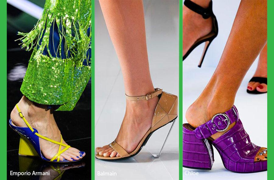 Trend moda 2019: tacchi design