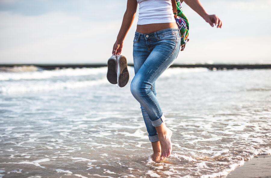 A piedi nudi, per un pieno di benessere