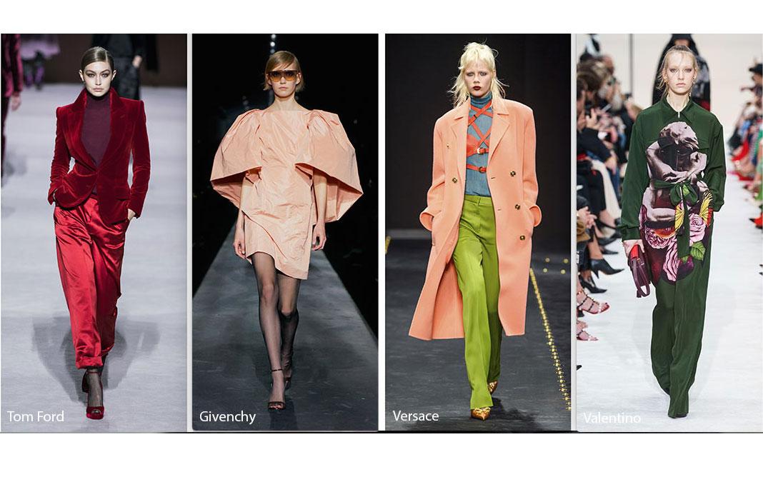 Tendenze moda AI 2019/20, tutti i colori della prossima stagione