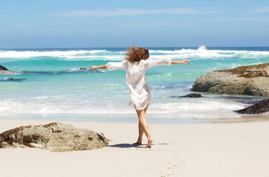 Weekend al mare? Corri e cammina, anche in acqua