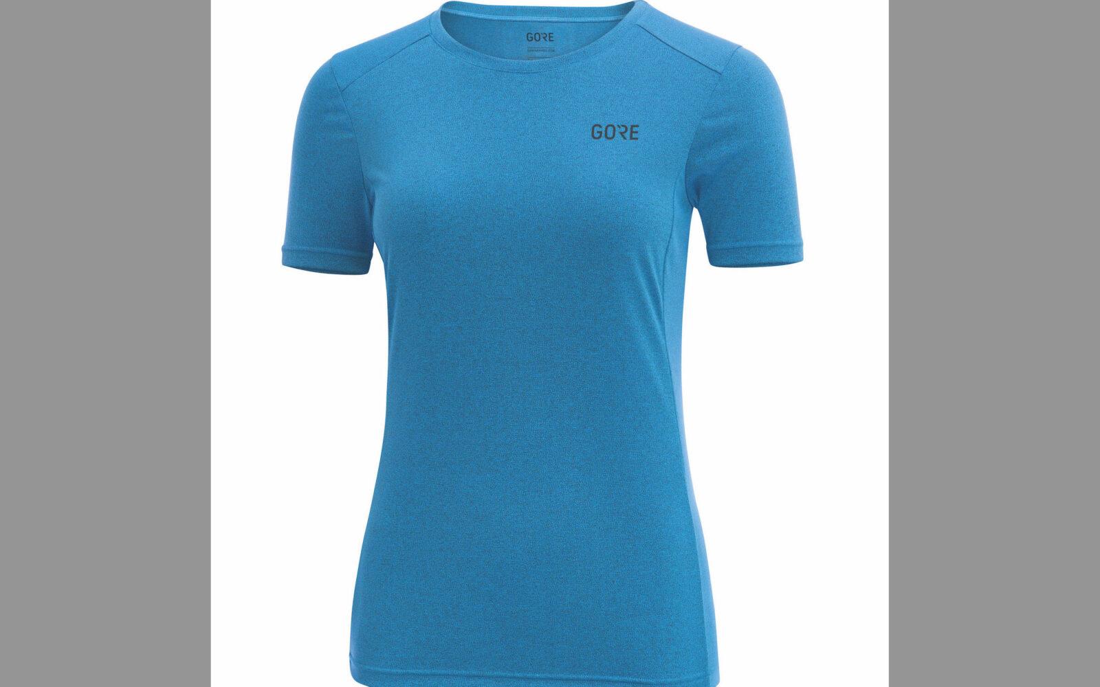 Gore R3 Women Mélange Shirt, in tessuto morbido leggerissimo ad alta traspirabilità, massimo comfort sulla pelle. Euro 49,95