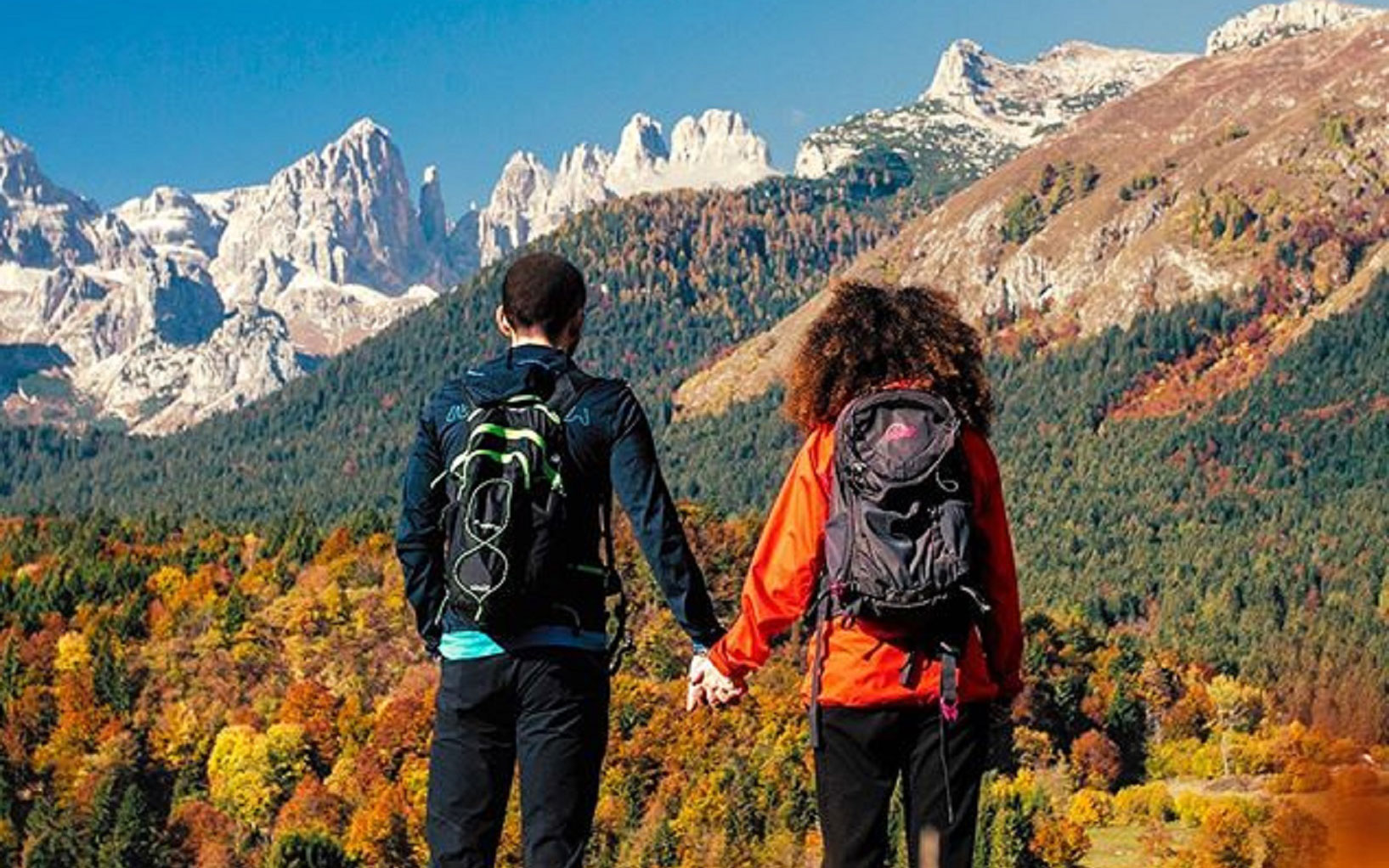 Trekking d'autunno per una fuga detox