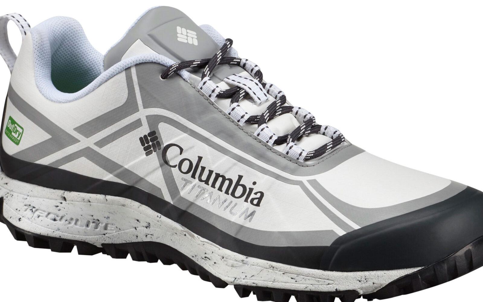 Columbia Conspiracy III Titanium Outrdy Extreme Eco, per il trail running, struttura impermeabile e traspirante, ammortizzazione e trazione elevata, realizzata con materiali riciclati e sistemi produttivi rispettosi dell'ambiente. Euro 149,99.