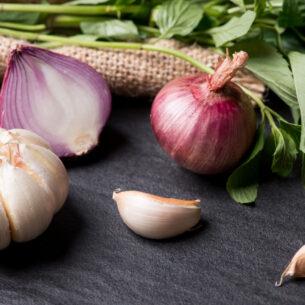 Elisir di lunga vita? Prova aglio e cipolla!
