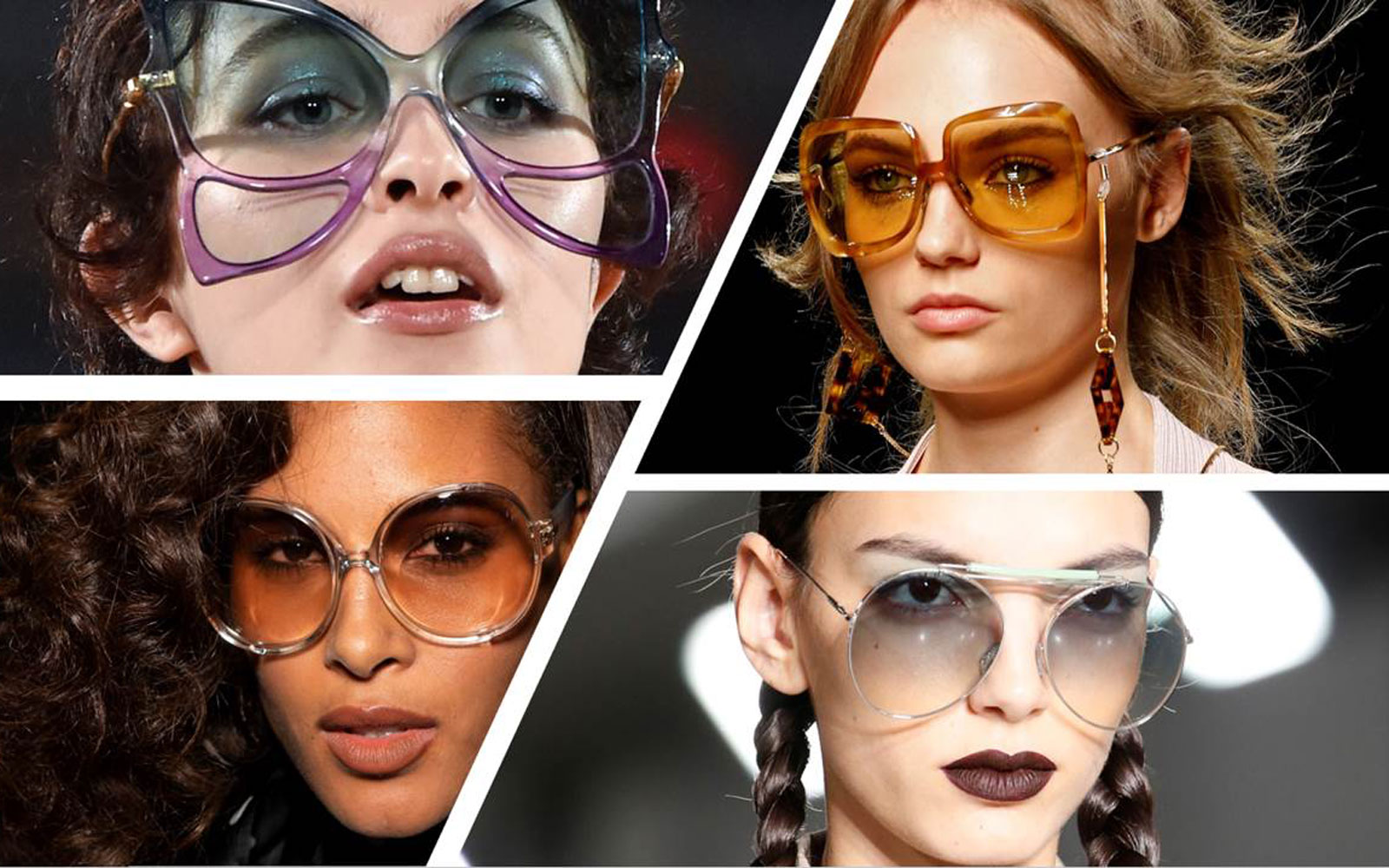 Moda accessori 2020, gli occhiali must have di primavera