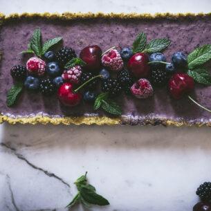 Crostata rustica ai frutti di bosco