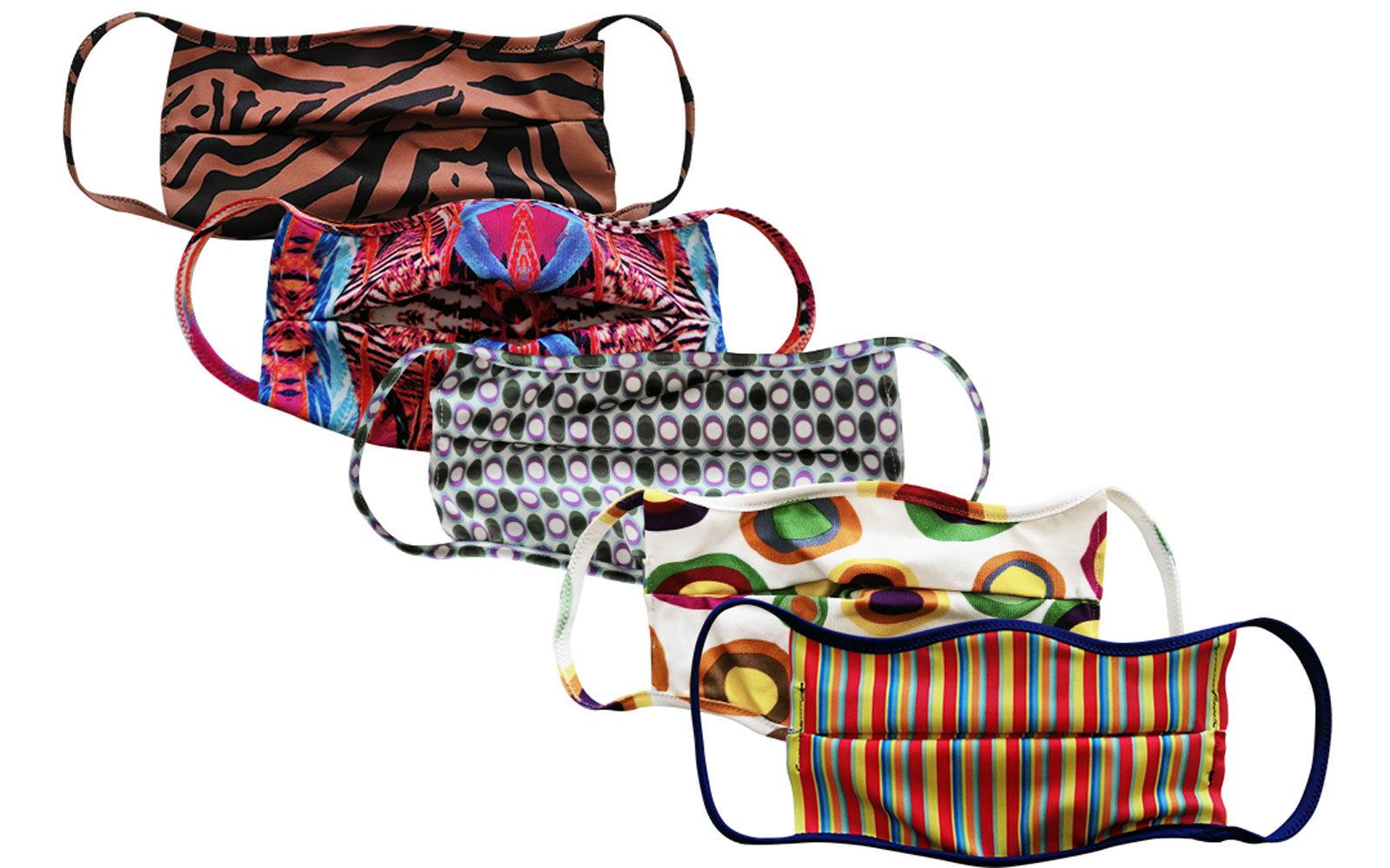 MASKITALIA mascherine in fantasia 35 euro il pacco da 5 www.maskitalia.it