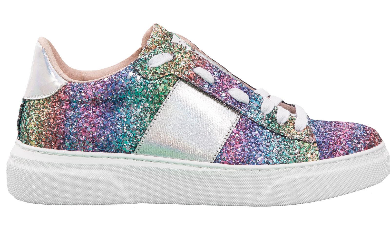 STOKTON sneakers glitter 189 euro www.stokton.it