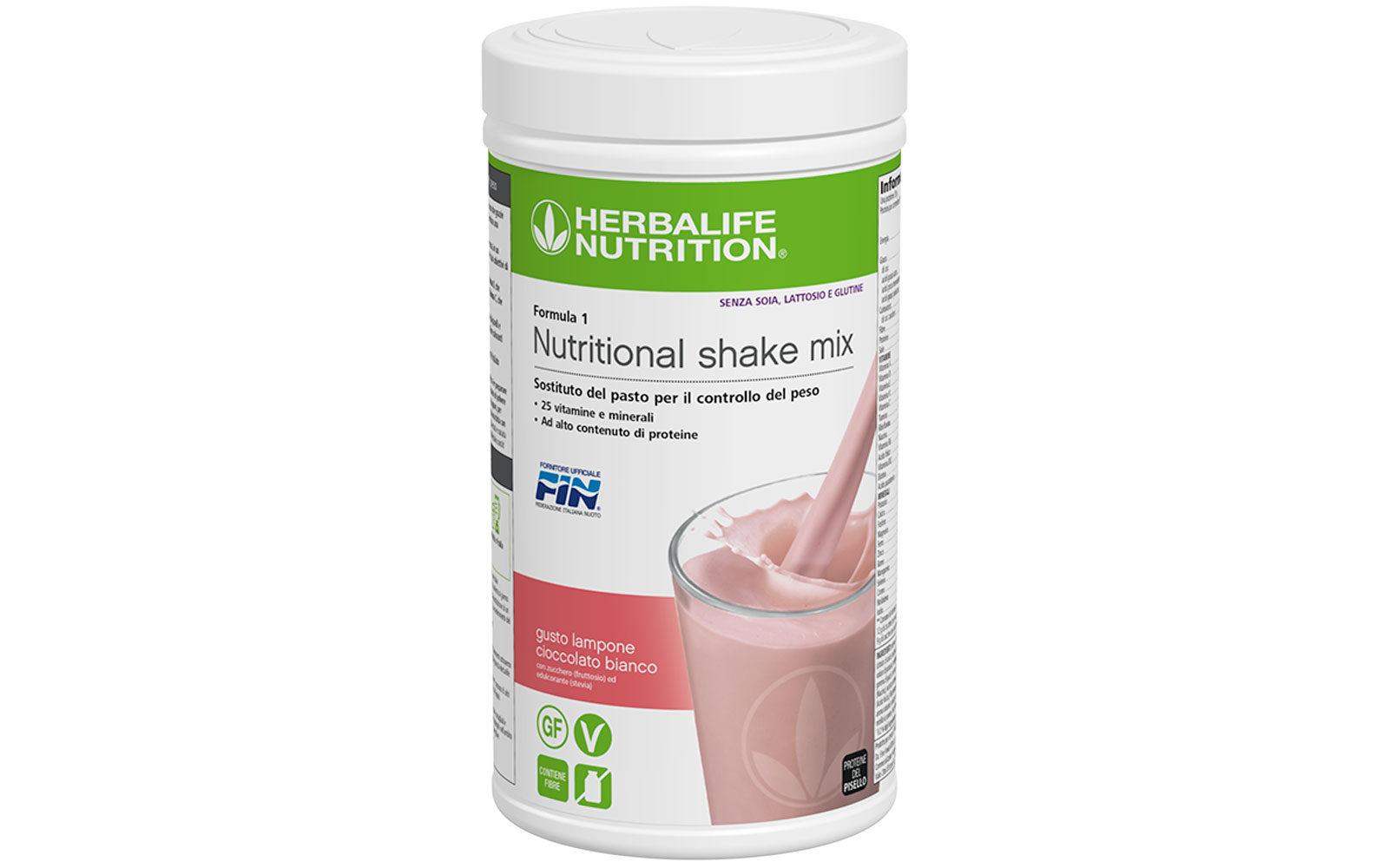 Herbalife Nutrition Nutritional shake mix – Gusto Lampone e Cioccolato bianco