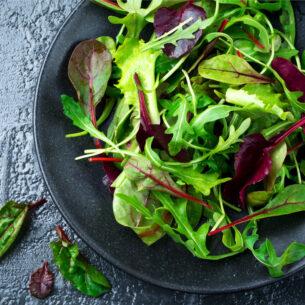 Rucola: nell'insalata e non solo