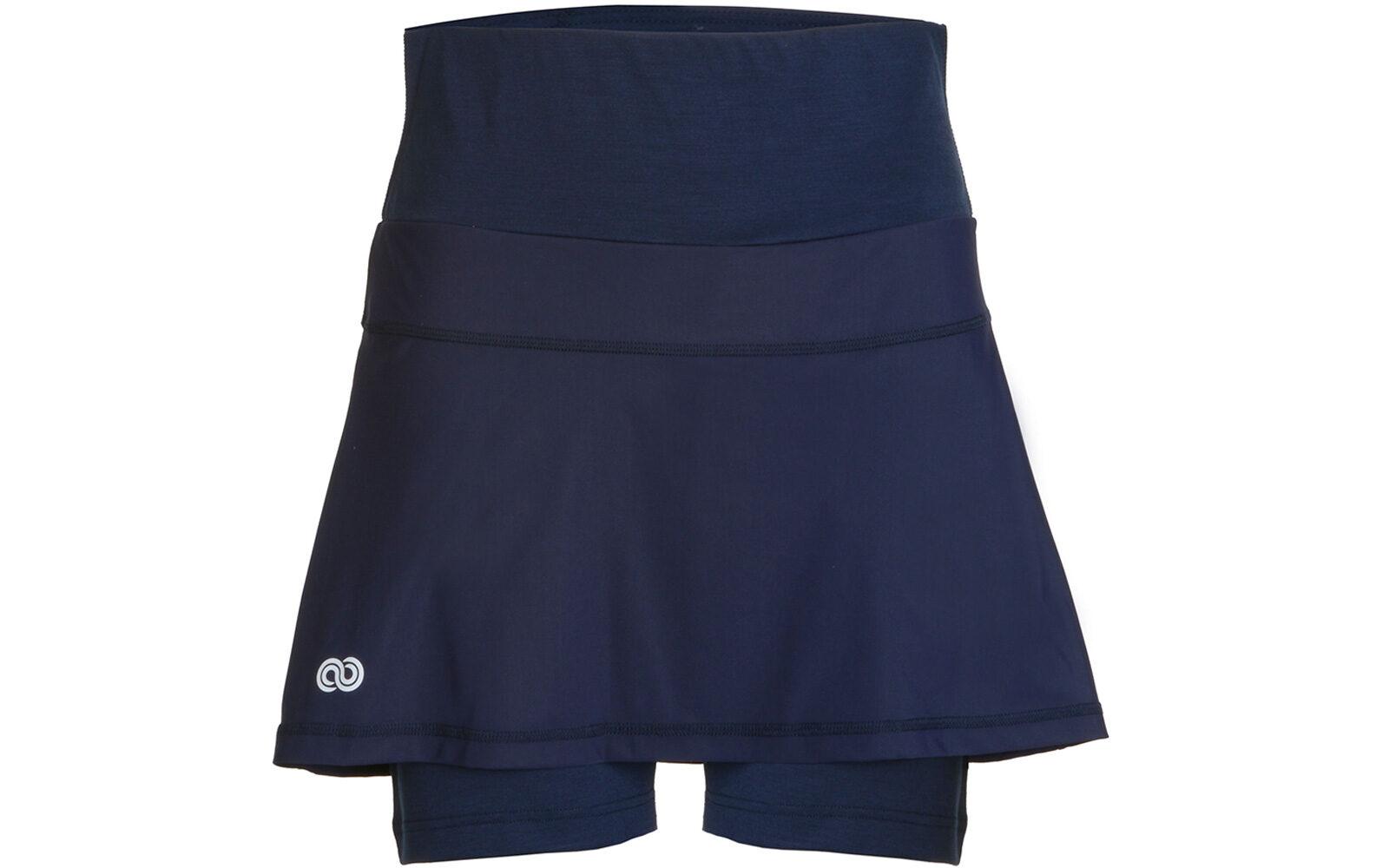 Rewoolution Kaira W's Skirt, in tessuto jersey Reda di lana merino, traspirante, con inserti in Sensitive per accrescere comfort ed elasticità. Euro 90