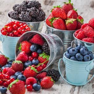 Lamponi, mirtilli, ribes: in estate fai il pieno di antiossidanti