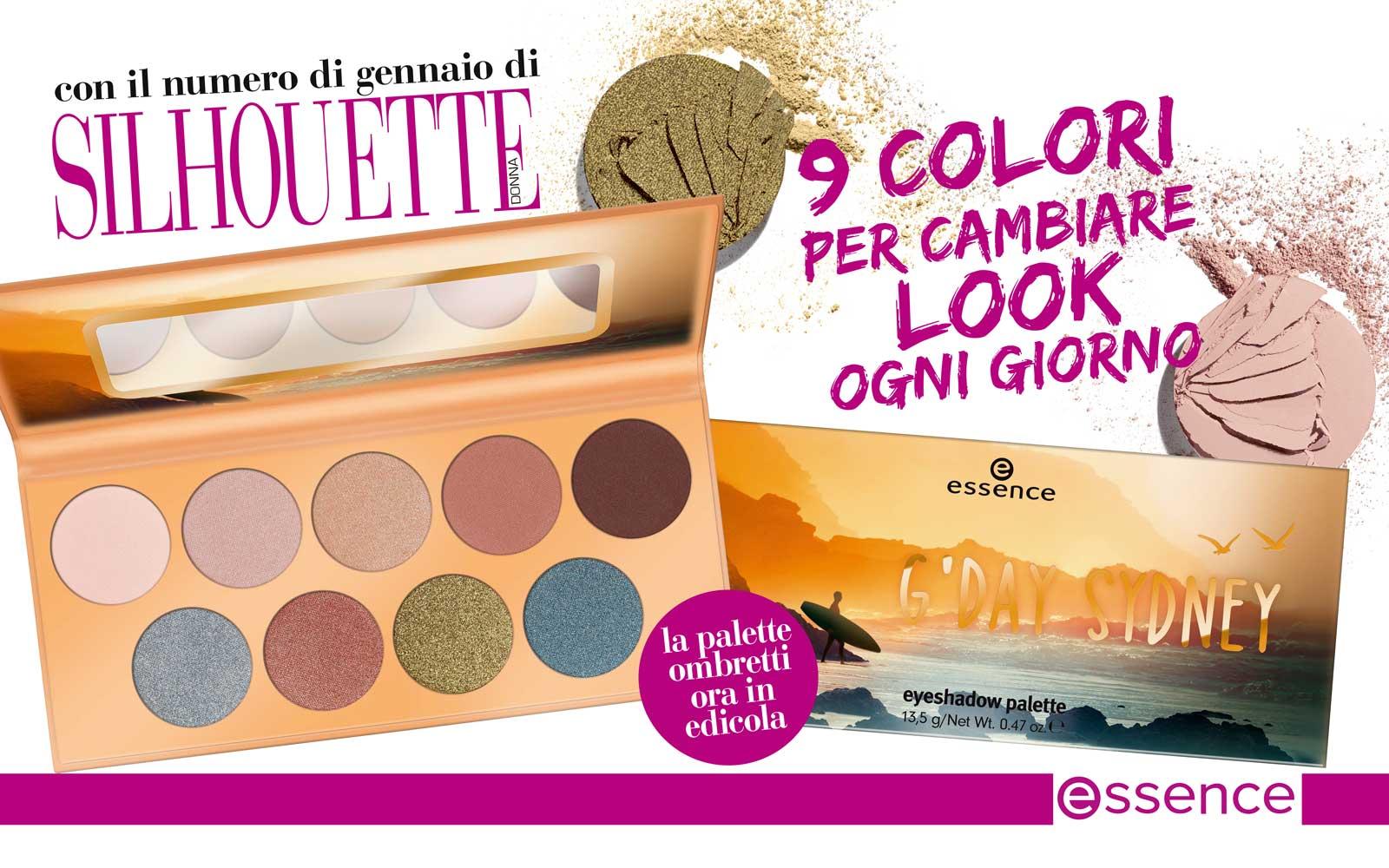 Make up: cambia look ogni giorno con la palette G'Day Sidney di essence