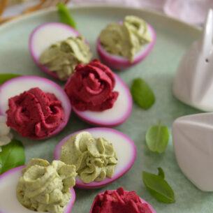 Ricette di Pasqua: uova in rosa