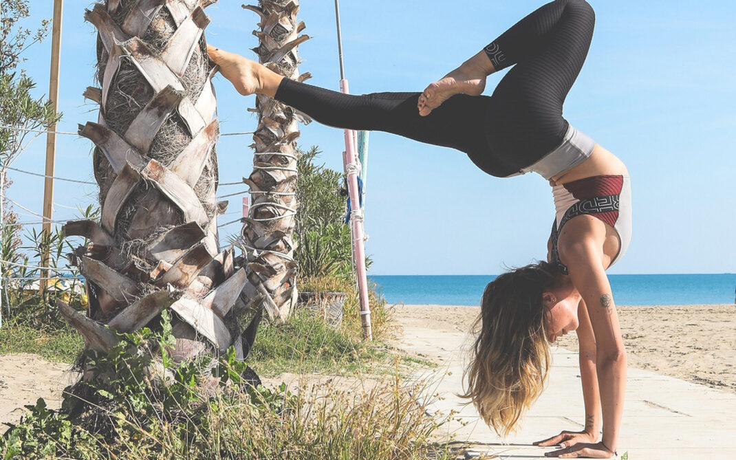 Yoga verticale