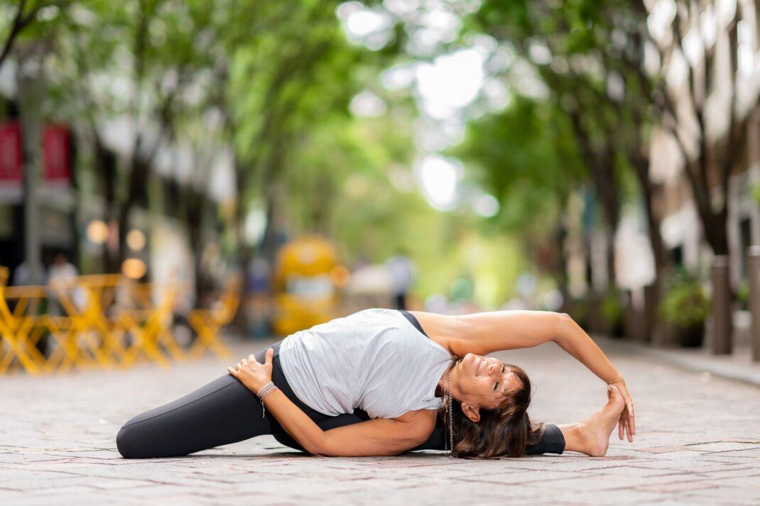 flexibilidade de ioga