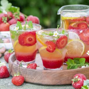Limonata di fragole
