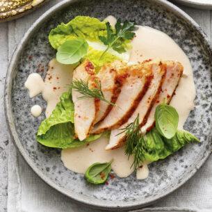Pollo tonnato senza maionese