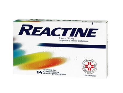 REACTINE 14CPR 5MG+120MG RP